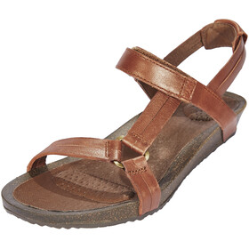 Teva Ysidro Universal Metallic Sandals Women brown
